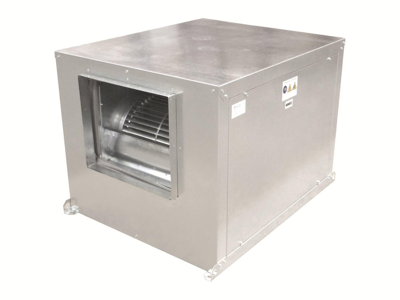 Caja de ventilación TBS ventiladores de simple aspiración